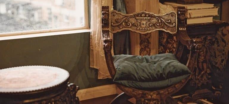 Wooden antique furniture