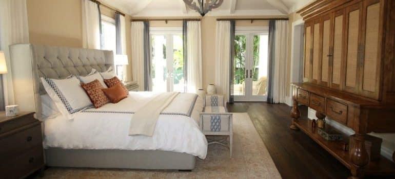 A big luxury bedroom