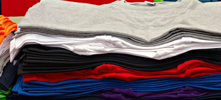 T shirts you can use as packing supplies before Buying moving supplies