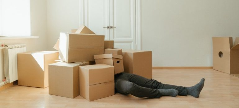 How to handle a Manchester move on short notice? Get enough packing supplies as soon as possible.